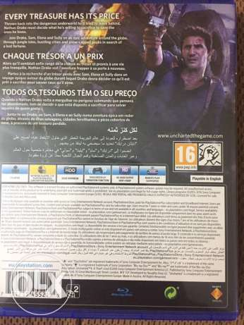 Uncharted 4 Arabic edition & Fifa 16 stander-like new(both together) 6 أكتوبر -  3