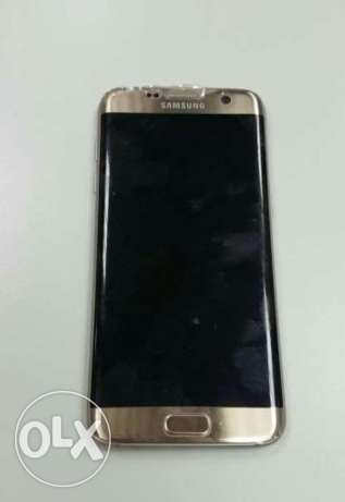 Samsung s7 edge gold color 32 gega without any scratch