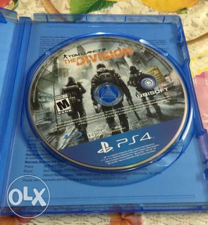 The Division Ps4 Game الزيتون -  2