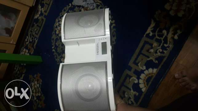 Ipod and AUX portable speaker and radio