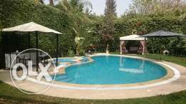 villa for rent in katamya heights with private swimming pool 6500dolar