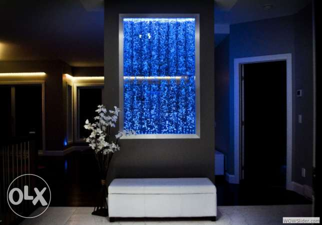 Elegant Dancing Water Bubble panels for modern decoration