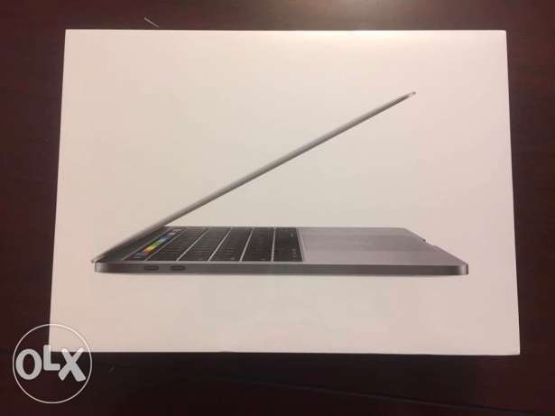 MacBook Pro with touch bar and touch id gray