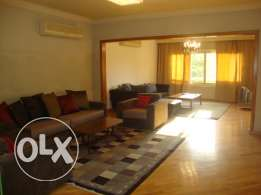 Apartment for rent furnished in maadi sarayat nice one in a great area