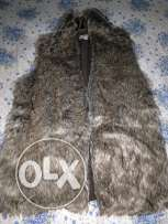 fur vest for girls
