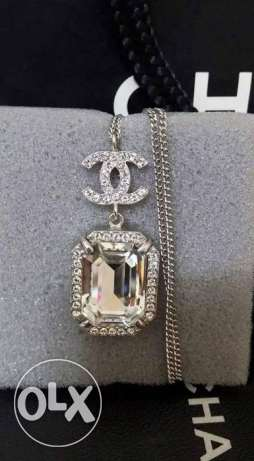 Chanel crystal necklace بني سويف الجديدة -  2