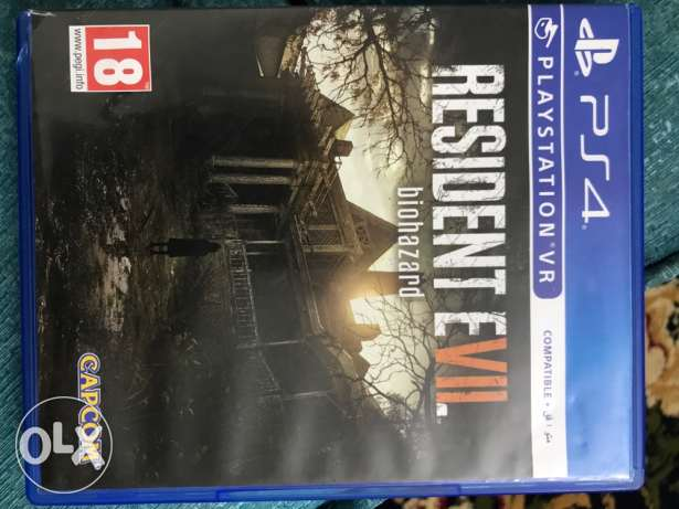 resident evil 7 for sale or trade with out lost