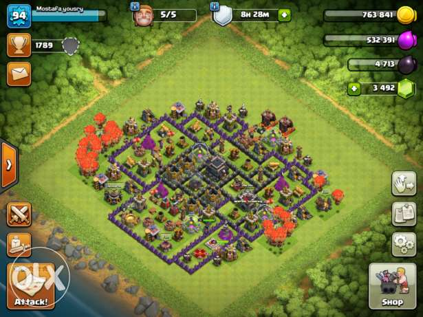 Clash of clans - town hall 9