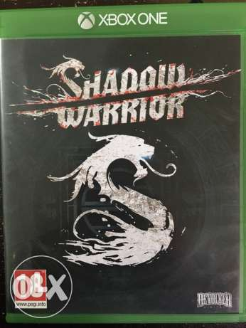 """X Box One game """"Shadow Worrier"""""""