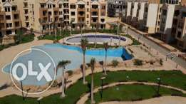 high land compound near to auc apartment with garden