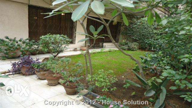 Ground Floor Apartment With Private Pool For Rent In Maadi Degla