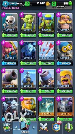 Clash Royale acc (IOS) مدينة نصر -  4