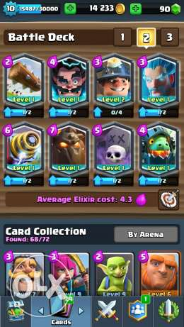 Clash royale 8 legendary