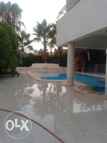 Furnished 5 bedroom villa with huge garden and pool الشيخ زايد -  2