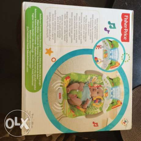 Fisher & Price Brand New Baby Bouncer