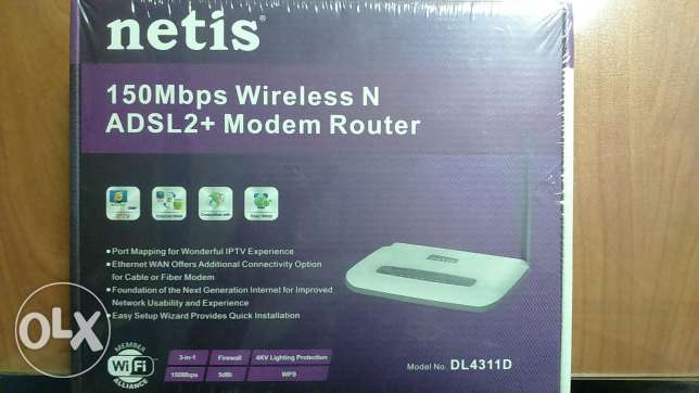Router netis 150Mbps Wireless