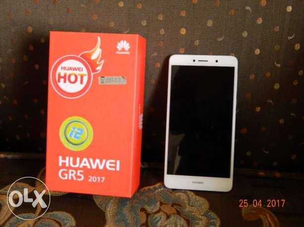 Huawei GR5 2017 Gold color with warranty