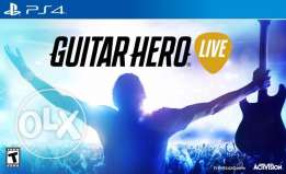 Guitar Hero Live (Game CD & Real Guitar included)