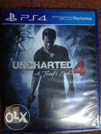 Uncharted 4 PlayStation 4 (PS4)