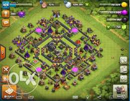 Clash of clans TH max 9