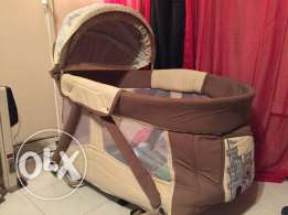 Large baby swing bed