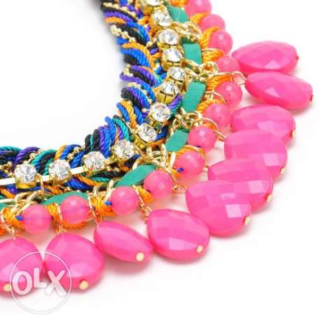 Colorful necklace مصر الجديدة -  2