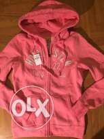 Original abercrombie and hollister zip up hoodie for 600 LE