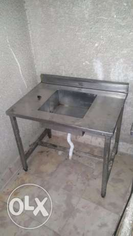 Tables and sink مصر الجديدة -  1