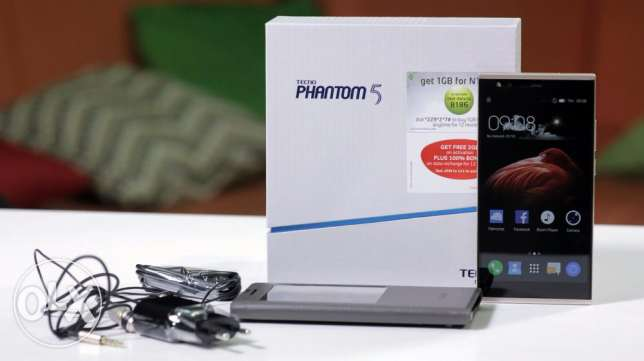 مطلــــــــــــــوب Tecno Phantom 5 زيـــــــــــــــــــرو (متبرشم)