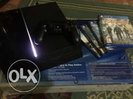 Ps4 1 controller + 5 games