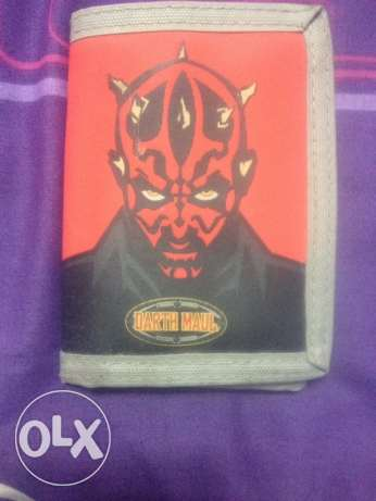 Kids Darth Maul Wallet In More Than Perfect Condition