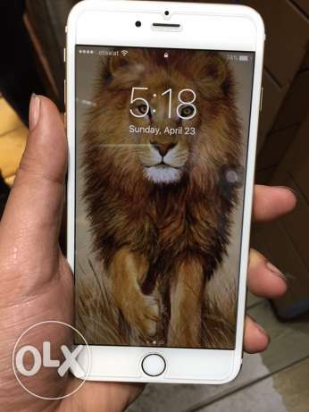 IPhone 6s Plus gold 16 gigabytes