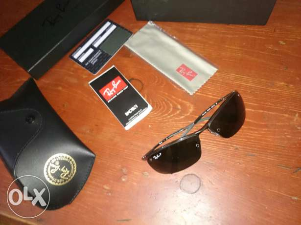 نضاره / نظارة Sunglasses Ray-Ban polerized original
