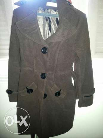 Brow  coat in a very good condition Size medium الإسكندرية -  1
