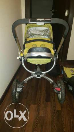 Quinny buzz stroller and maxi cosi baby carry cot from Germany