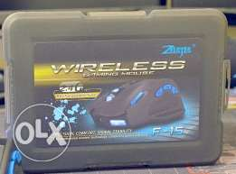 Zelotes F15 Rechargeable Wireless Gaming Mouse **جديد متبرشم**