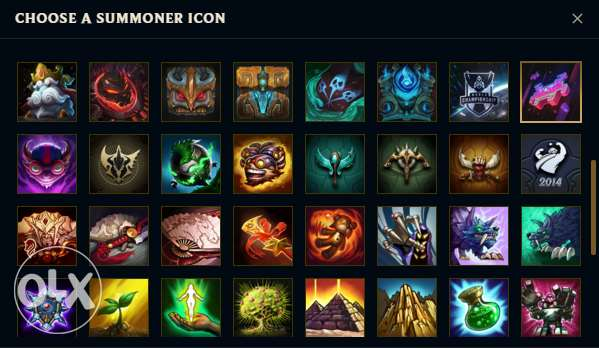 League of legends account (lol) Plat V 69 skins including rare skins الإسكندرية -  3