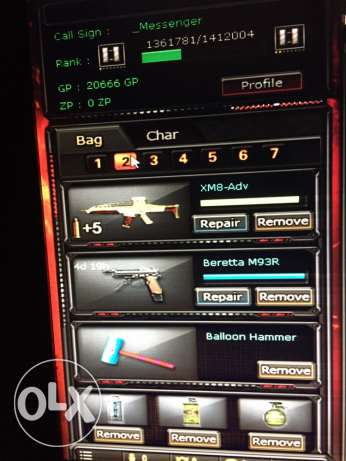 crossFire with data new account