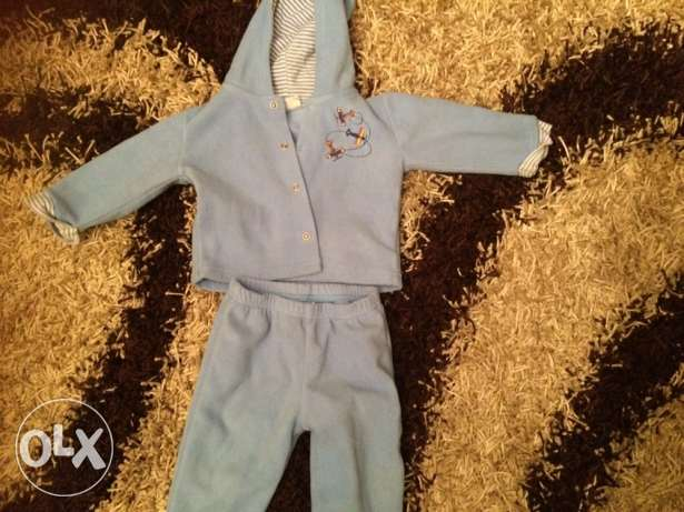 junior pyjama size 6-12 months