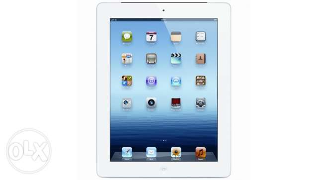 iPad 4 White color 16GB wifi and 4G