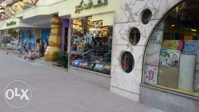 commercial store in Abbas El Akkad 700 square meters