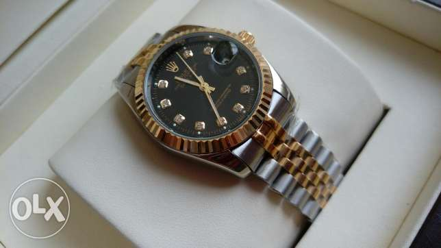 Rolex Datejust dial gold العباسية -  2