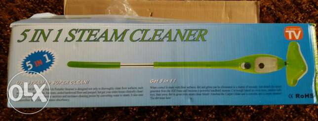 5 in 1 steam mop HJ-017 موب