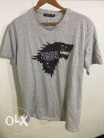Game of Thrones Winter is Coming printed tshirt