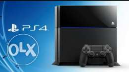 Playstation4 used + psn plus 1 year