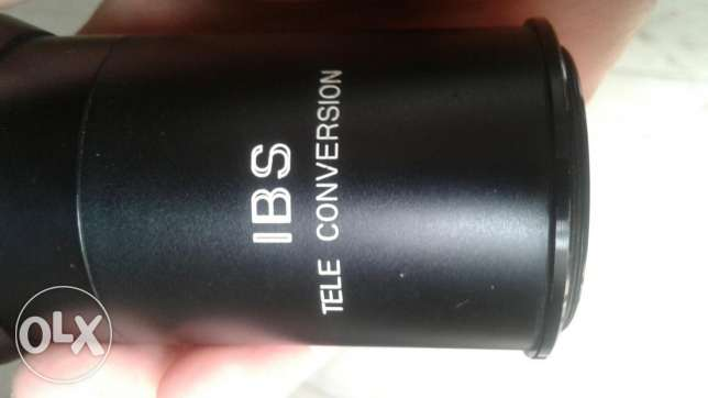 IBS Tele conversion lens ×4 made in japan