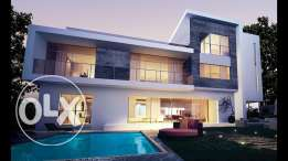 Villa For Sale In sheikh zayed With 20 % Down Payment With 7 years