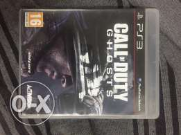 Cd call of duty .. ghosts .. من الكويت PS3
