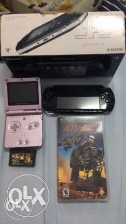 Psp and Gameboy