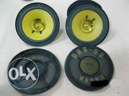 Car speakers set 500 watts made in japan